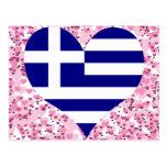 Buy Greece Flag Postcard