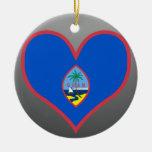 Buy Guam Flag Christmas Ornament