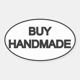 Buy Handmade Oval Motif Oval Sticker