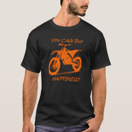 Buy Happiness - Orange on Black (KTM) T-Shirt