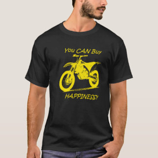 Buy Happiness - Yellow on Black (Suzuki) T-Shirt