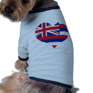 Buy Hawaii Flag Dog Shirt