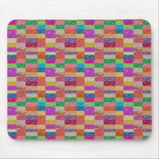 Buy Healing Vibes: CHECKERED ART CRYSTAL TILES Mouse Pads