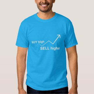 Buy High, Sell Higher T Shirt