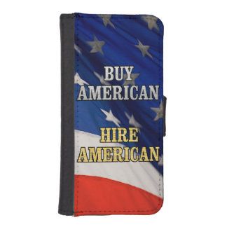 BUY HIRE AMERICAN iPhone SE/5/5s WALLET
