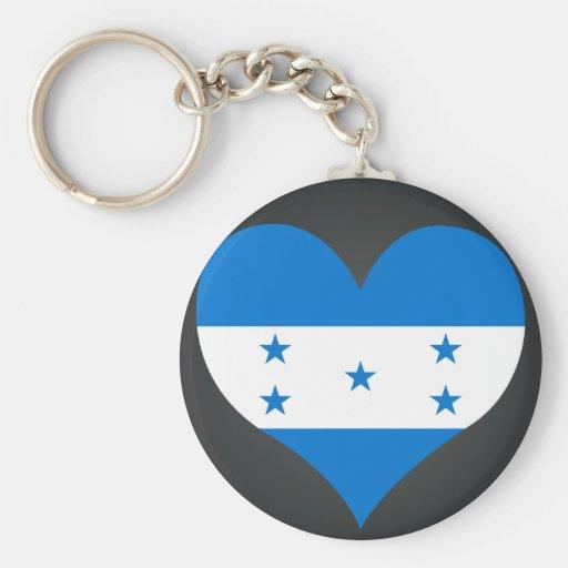 Buy Honduras Flag Basic Round Button Keychain