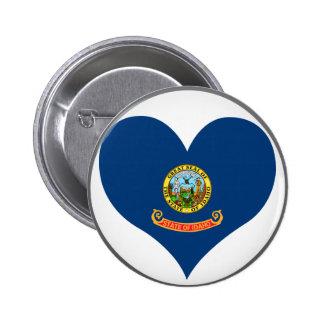 Buy Idaho Flag Buttons