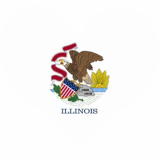 Buy Illinois Flag Acrylic Cut Outs