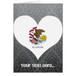 Buy Illinois Flag Greeting Card