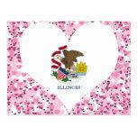 Buy Illinois Flag Post Card