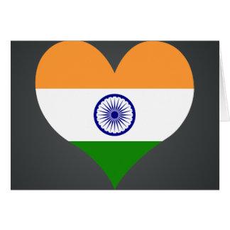 Buy India Flag Card