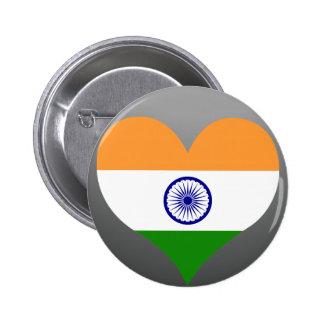Buy India Flag Pinback Button
