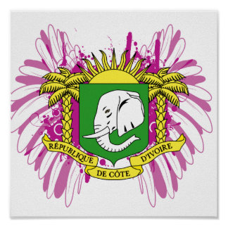 Buy Ivory Coast Flag Print
