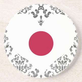 Buy Japan Flag Beverage Coasters