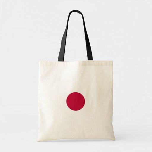 Buy Japan Flag Budget Tote Bag