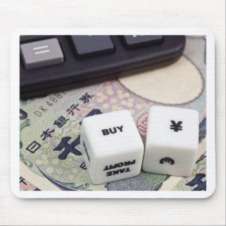 Buy Japanese Yen Mouse Pad