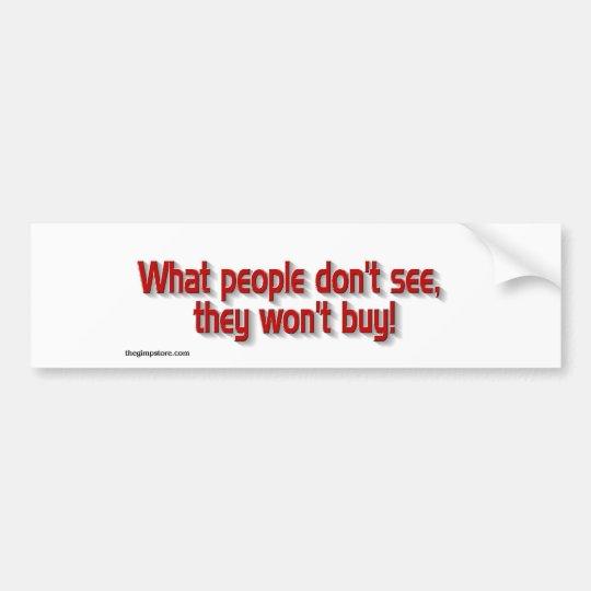 buy.jpg bumper sticker