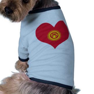 Buy Kyrgyzstan Flag Dog Tee Shirt