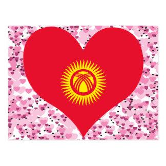 Buy Kyrgyzstan Flag Postcard