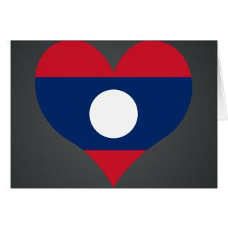 Buy Laos Flag Card