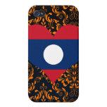 Buy Laos Flag iPhone 4 Cases