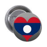 Buy Laos Flag Pinback Button