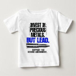 BUY LEAD 2ND AMENDMENT.png Baby T-Shirt