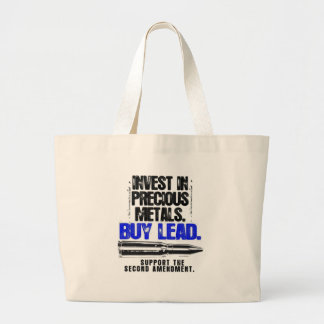 BUY LEAD 2ND AMENDMENT.png Canvas Bags