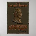 Buy Liberty Bonds -- Abraham Lincoln Poster