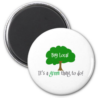 Buy Local 2 Inch Round Magnet