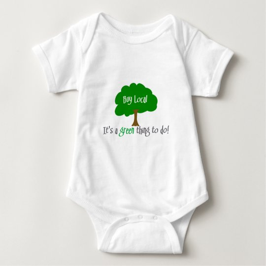 Buy Local Baby Bodysuit