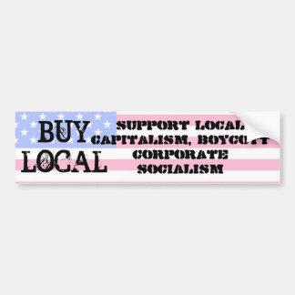 Buy Local Car Bumper Sticker