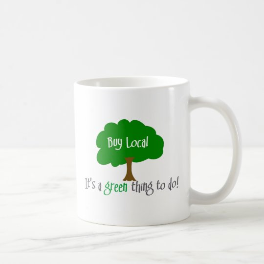 Buy Local Coffee Mug