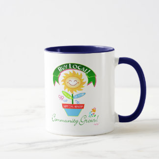 Buy Local Community Grows Mug