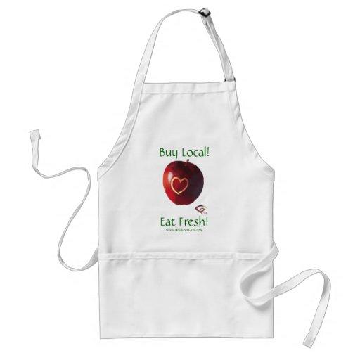 Buy Local! - Eat Fresh! Apron
