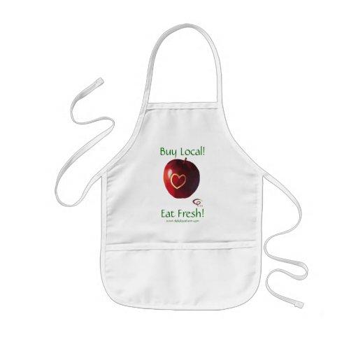Buy Local! - Eat Fresh! Apron - Kids
