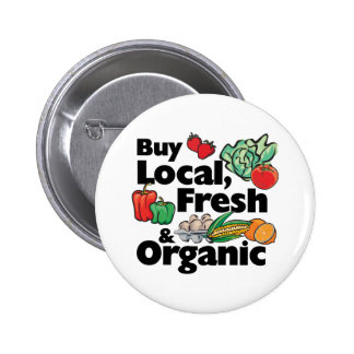 Buy Local, Fresh & Organic Pins