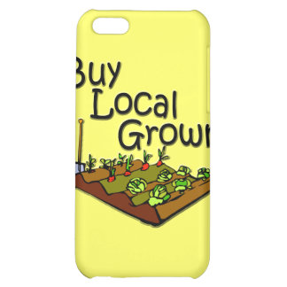 Buy Local Grown Produce black Cover For iPhone 5C