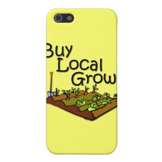 Buy Local Grown Produce black iPhone 5 Cases