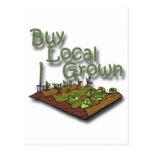 Buy Local Grown Produce Postcard