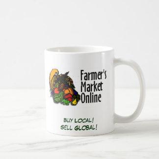 Buy Local! Sell Global! Classic White Coffee Mug