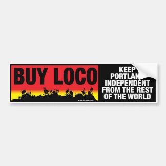 BUY LOCO! Bumper Sticker