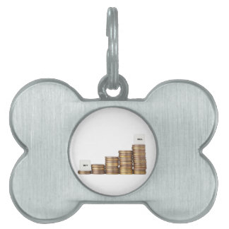 Buy low sell high pet tag