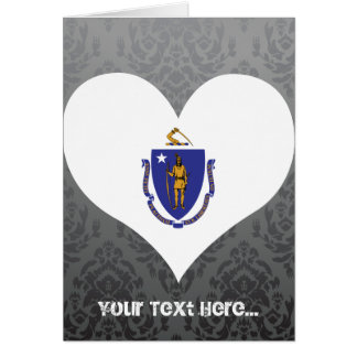 Buy Massachusetts Flag Greeting Cards