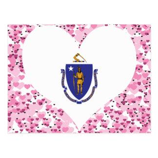 Buy Massachusetts Flag Post Card