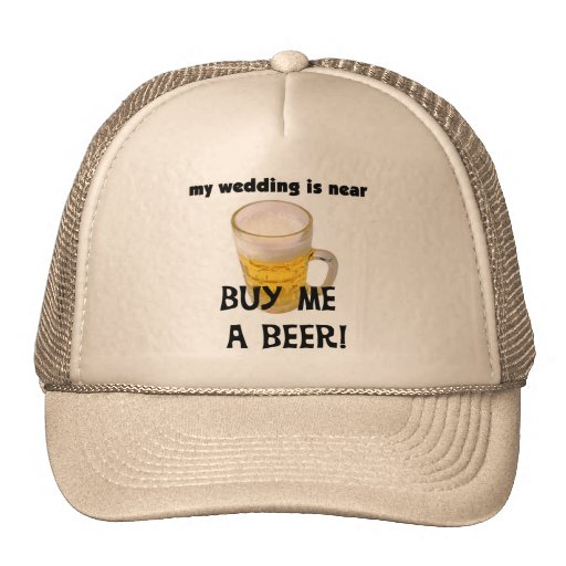 Buy Me a Beer Bachelor Party Tshirts and Gifts Mesh Hats