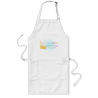 Buy me a Beer my Wedding is Near! Long Apron