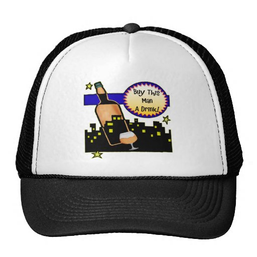 Buy Me A Drink Beer T-shirts Gifts Mesh Hat