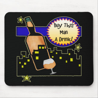 Buy Me A Drink Beer T-shirts Gifts Mouse Mat