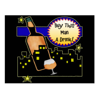 Buy Me A Drink Beer T-shirts Gifts Postcard